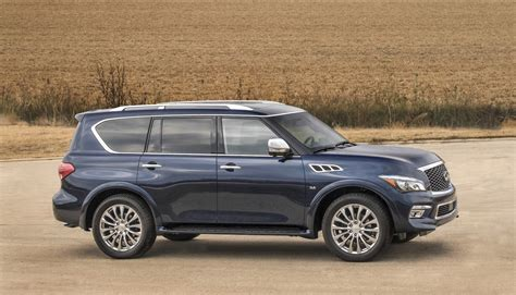 2017 infiniti qx80 features review the car connection