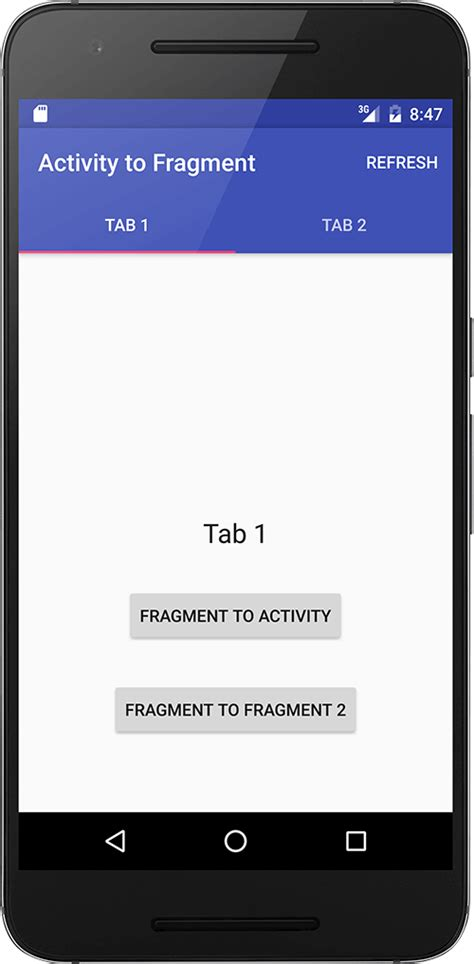 android activity android activity to fragment communication truiton