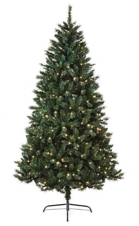 buy pre lit nordic fir artificial christmas tree 2 1