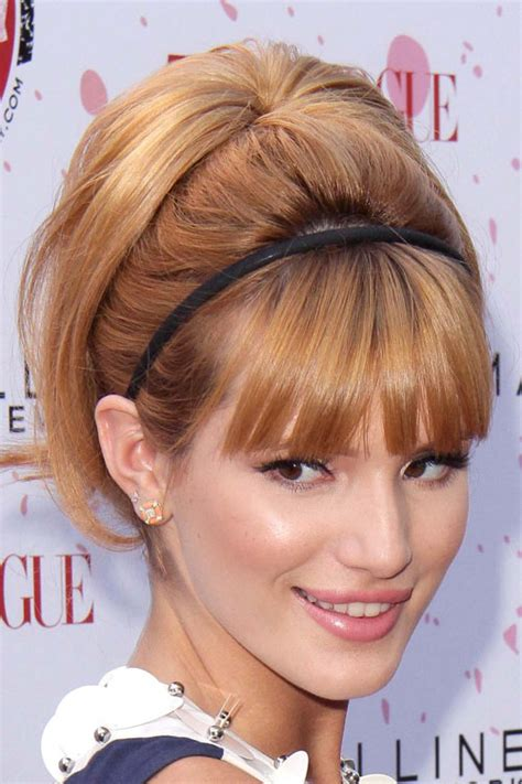 easy hairstyles for hair with bangs 35 easy updos you ll to try easy updo ideas