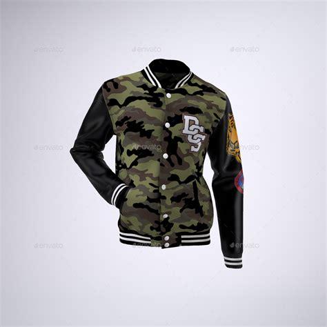baseball jacket template varsity baseball bomber jacket mock up by sanchi477