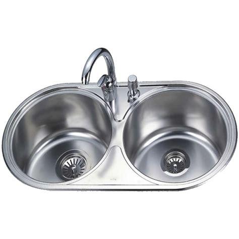 Double Bowl Round Kitchen Sink