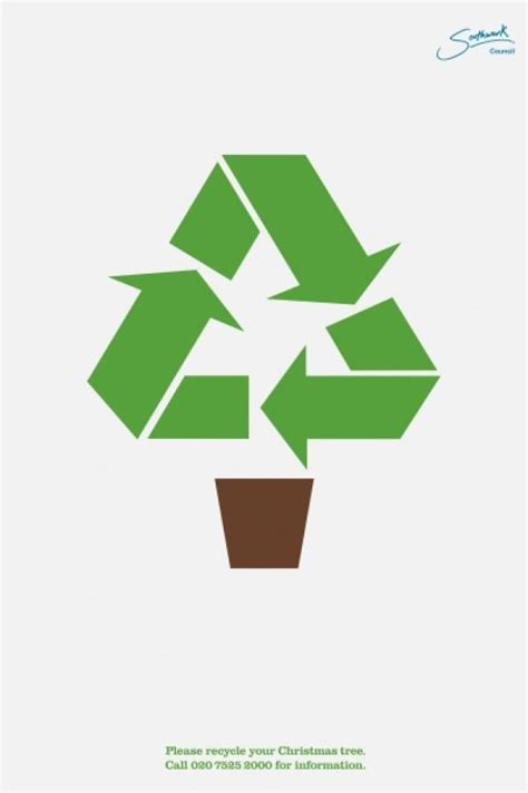 tree recycle logo