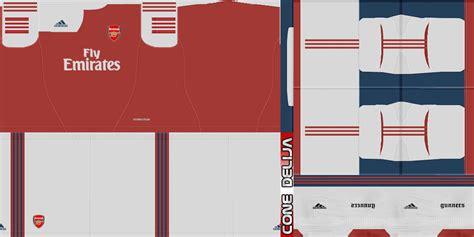 arsenal kit pes 2013 pes patch pes 2013 fantasy adidas arsenal kits by cone delija