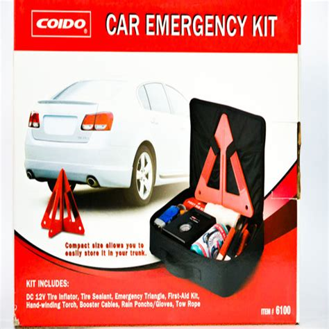 Self Help Emergency Emergency 9 in1 car emergency self help kit coido for parts big