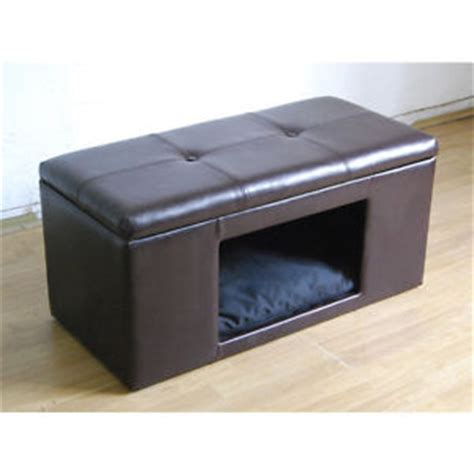 cat ottoman dog pet house bench ottoman cat bed storage foot stool
