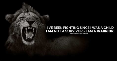 Home Building Quotes by I Am Not A Survivor I Am A Warrior Motivational Video