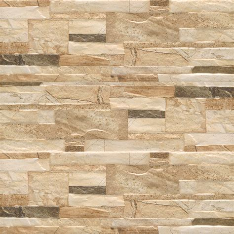 wall tiles 175x500mm brick lasha sand brick stone look wall tile