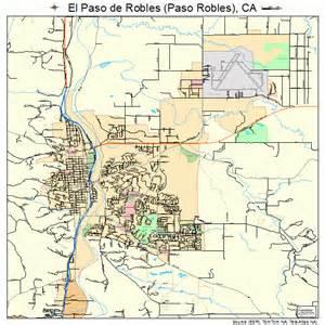 el paso de robles paso robles california map 0622300