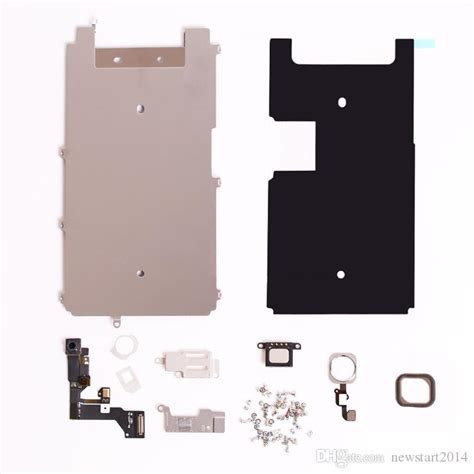 screen lcd metal bracket  iphone  front camera home