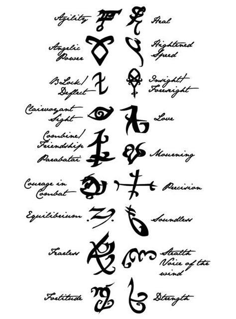 mortal instruments tattoos mortal instruments runes symbols books