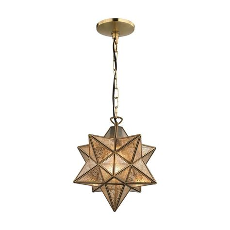 moravian 1 light gold pendant tn 998368 the home depot