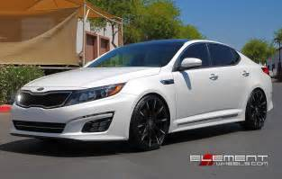 Kia Optima Rims Lexani Css15 Chrome On Kia Optima Wheels
