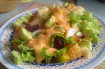 membuat salad buah dan sayur salad sayur dan buah saus kacang resep kuliner indonesia