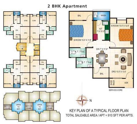 2 bhk plan welcome to swapnil group