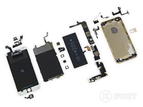 Sparepart Iphone 6 ifixit teardown iphone 6 plus iphone 6 zerlegt