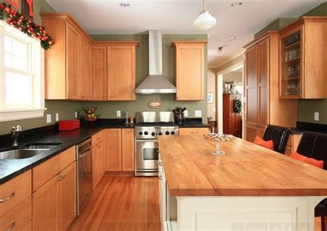 Best Kitchen Wall Colors With Oak Cabinets The Best Kitchen Wall Color For Oak Cabinets Bernier Designs