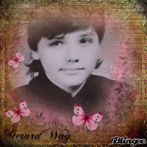 young gerard way the shape of gerard way face when he was gerard way gt young boy picture 127418662 blingee com