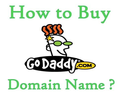 easy how to buy domain name from godaddy