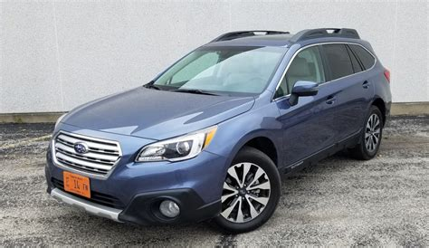 blue subaru outback 2017 test drive 2017 subaru outback 3 6r limited the daily