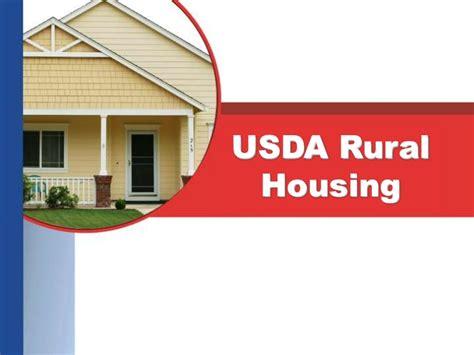 usda rural housing service usda mortgage loan presentation for north and south carolina