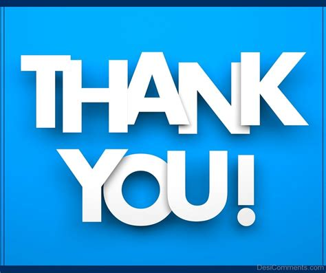 A Thank You by Thank You Pictures Images Graphics For