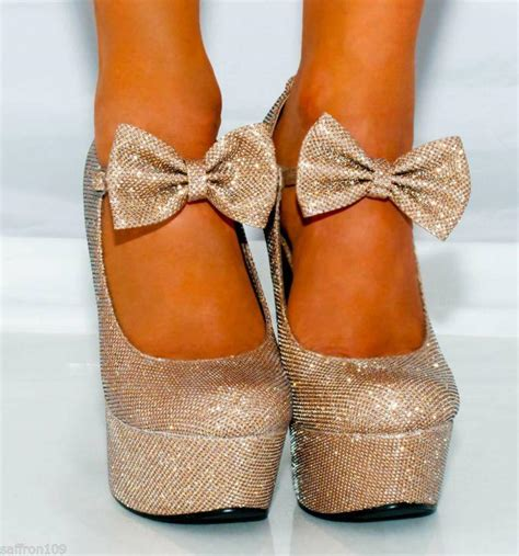 silver high heels for quinceanera wedges shoes womens glitter high heels from saffron109 on ebay