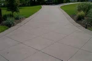 Cut Concrete Patio by Concrete