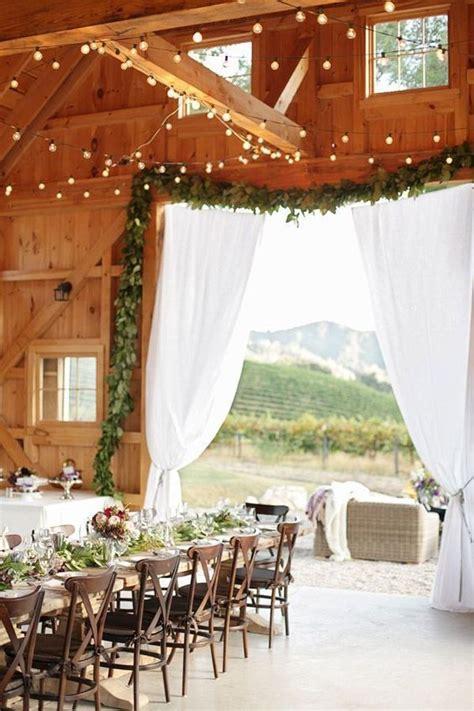 natural outdoor vineyard wedding ideas deer pearl flowers