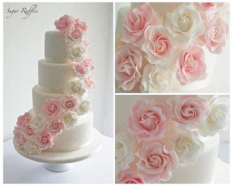 Hochzeitstorte Vintage Rosa by Hochzeit Pink Cascade Hochzeitstorte 1987599