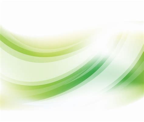 background vector green abstract green curve vector background free vector