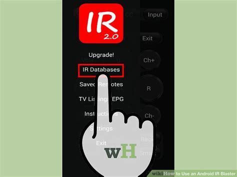 ir blaster app for android how to use an android ir blaster 8 steps with pictures