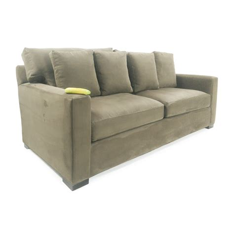 axis sofa axis ii brown 3 seat sofa crate and barrel thesofa