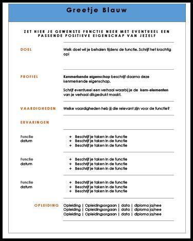 Cv Voorbeeld Vakkenvuller Solliciteer Net voorbeeld sollicitatiebrief curriculum vitae 17 jongose