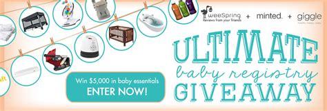 Ultimate Baby Registry Giveaway - ultimate baby registry giveaway weespring