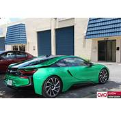 BMW I8 Gloss Envy Green Wrap