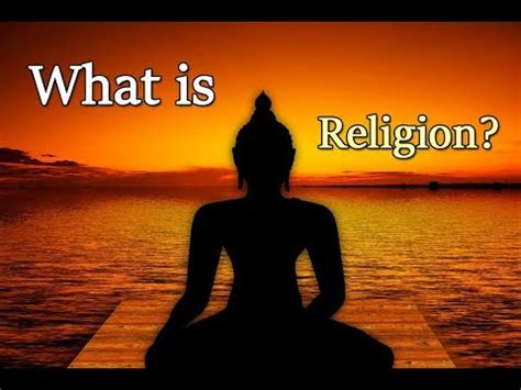 what is religion what is religion