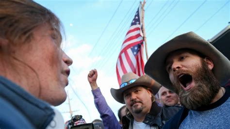Donald Trump Utah | trump supporters protesters clash outside rally in salt