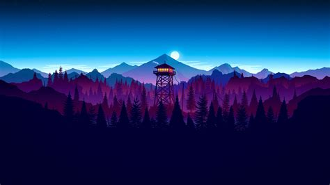 mozilla hintergrund themes awesome firewatch wallpaper 3840x2160 firewatch