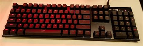 Keyboard Gaming Hyperx hyperx alloy fps mechanical gaming keyboard by kingston at idf16 legit reviews