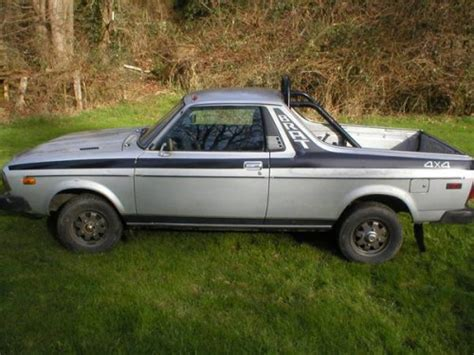 subaru brat for sale craigslist 1978 subaru brat 4wd for sale in camano island washington