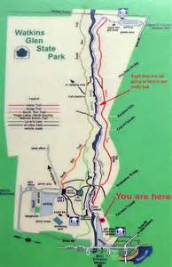 Watkins Glen State Park Map watkins glen state park trail map traveling the us