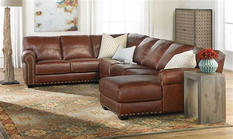 o leather sofa leather sofa and chaise 100 aniline leather