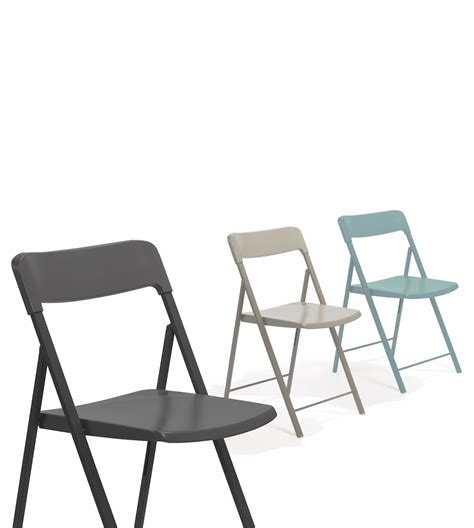 sedie pieghevoli plastica 6 sedie pieghevoli zeta in acciaio e plastica multicolor