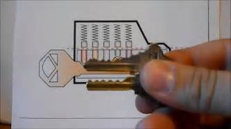 bump key template how to unlock a schlage lock with a bump key and how to