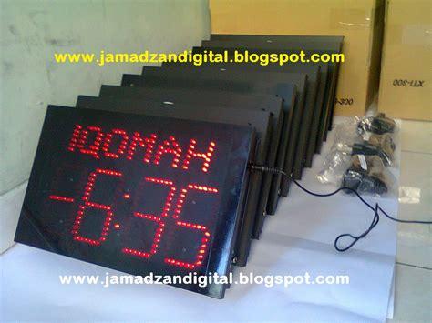 Jadwal Waktu Sholat Running Text Harga Termurah jadwal sholat solojadwal sholat digital murah otomatis running text jadwal sholat digital