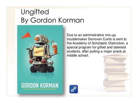 Ungifted gordon korman quotes fandeluxe Images