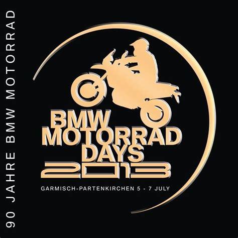 Motorrad Days Logo by 13e Bmw Motorrad Days Viert 90 Jaar Bmw Motorrad Kort