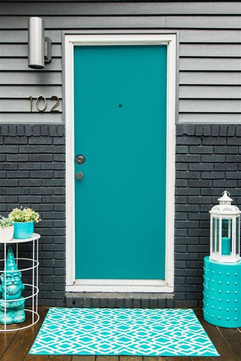 turquoise paint colors 25 best ideas about turquoise front doors on