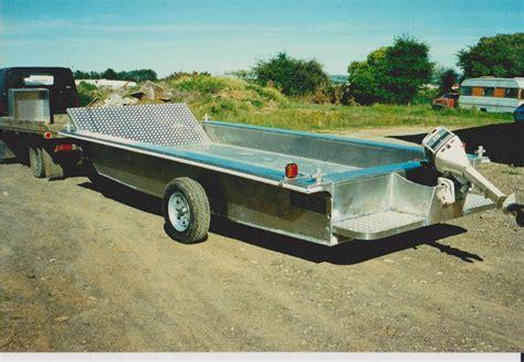 pontoon boat trailer design myark trailer barge boat design net